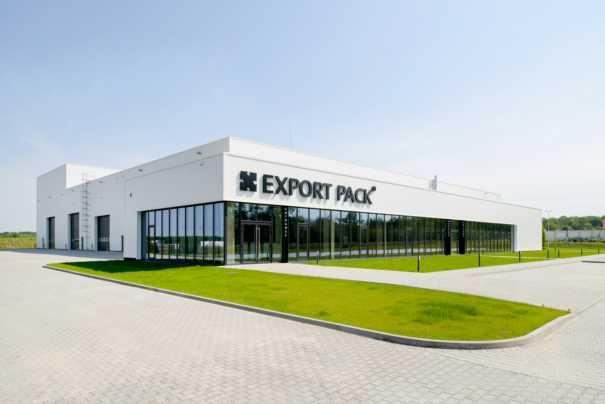 Export pack factory in Poland built by Takenaka Europe