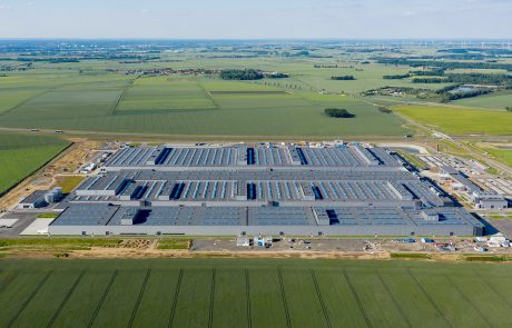 Daimler battery factory (part of whole complex) in Poland built by Takenaka Europe