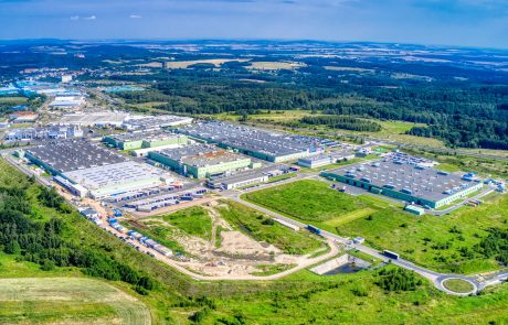 Toyota Motor Manufacturing Poland Engine Factory Extension in Wałbrzych built by Takenaka Europe