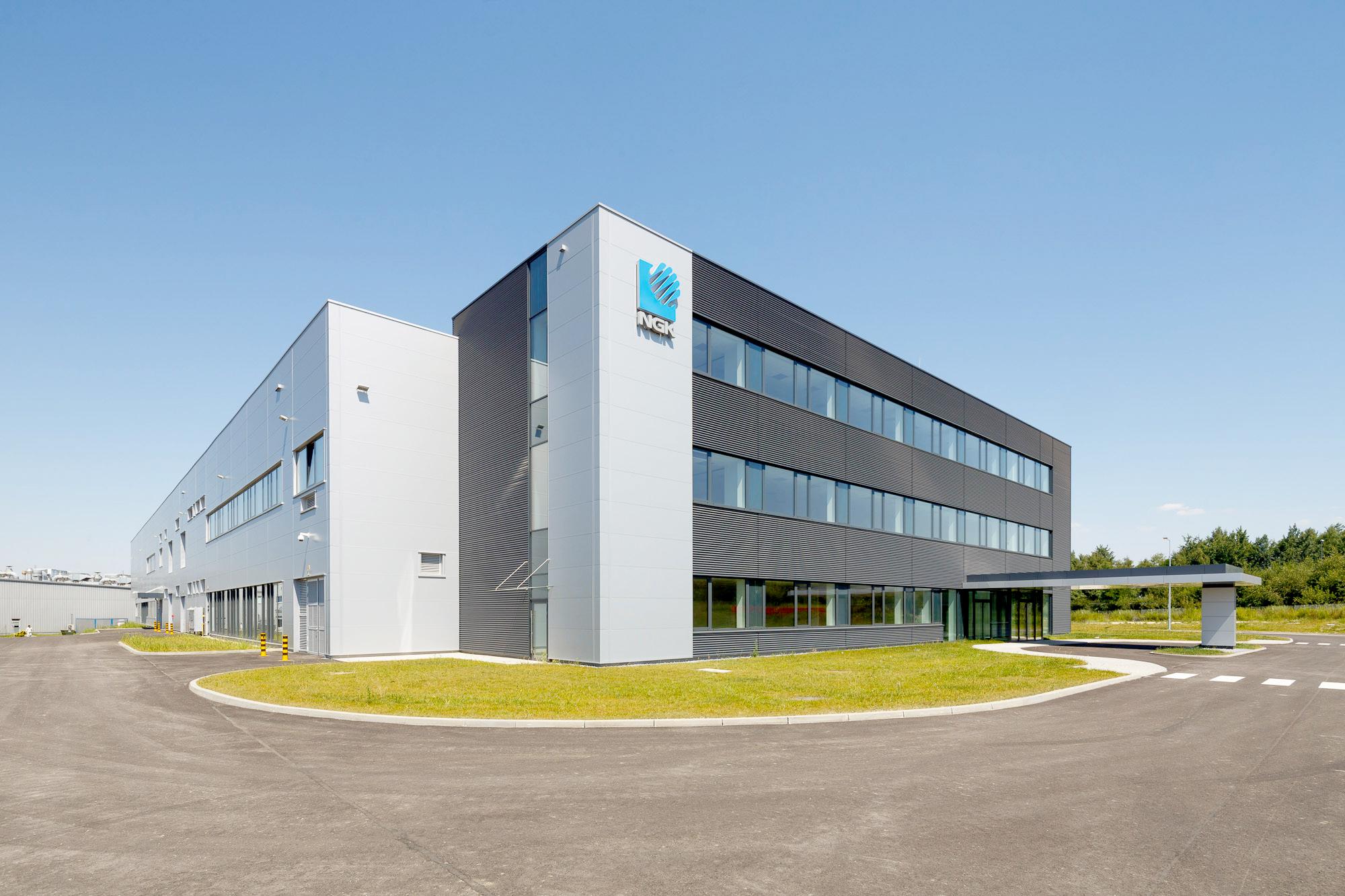 NGK Ceramics NOx Factory in Gilwice Poland built by Takenaka Europe