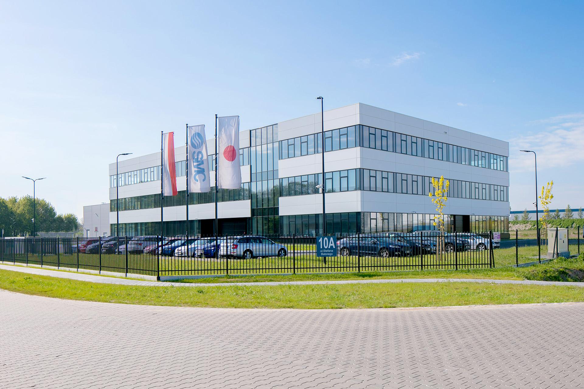 SMC headquarters in Poland built by Takenaka Europe