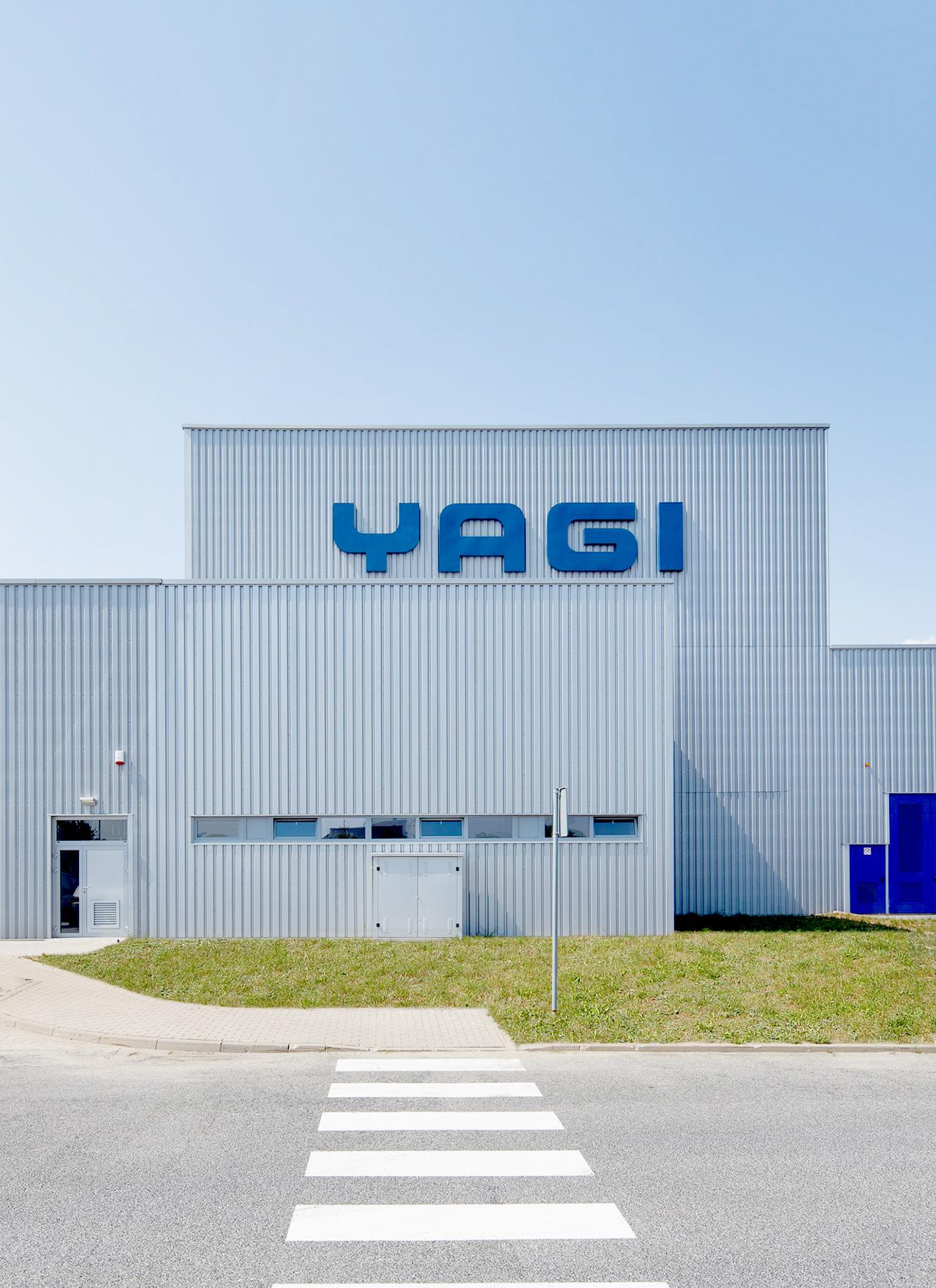 Yagi factory in Zaróf Poland built by Takenaka Europe