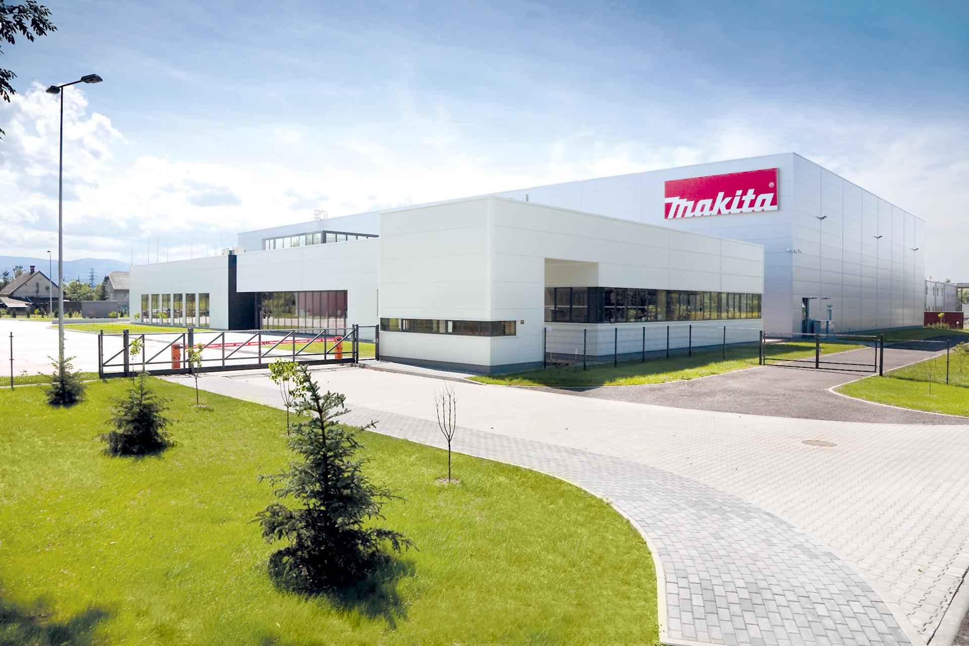 Makita Office and Warehouse in Bielsko-Biala Poland built by Takenaka Europe