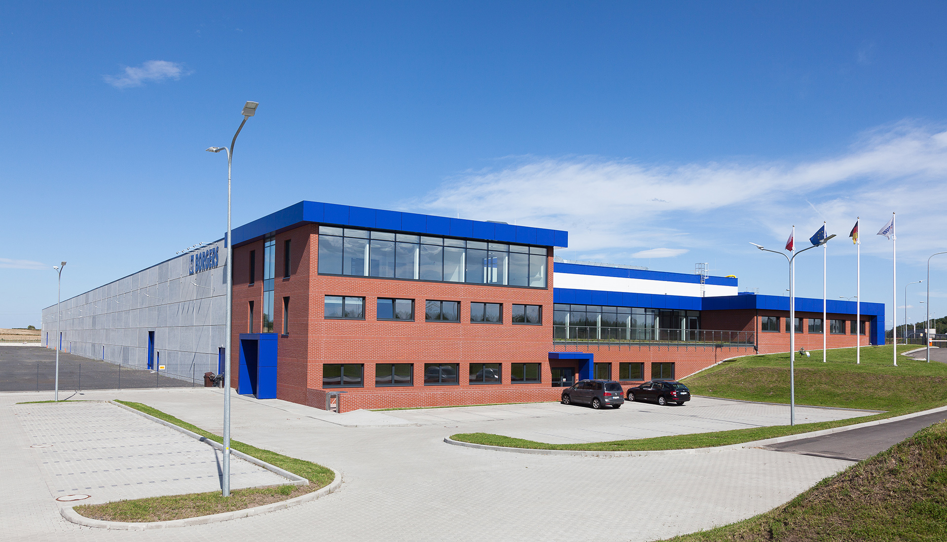 Borgers factory in Poland build by Takenaka Europe