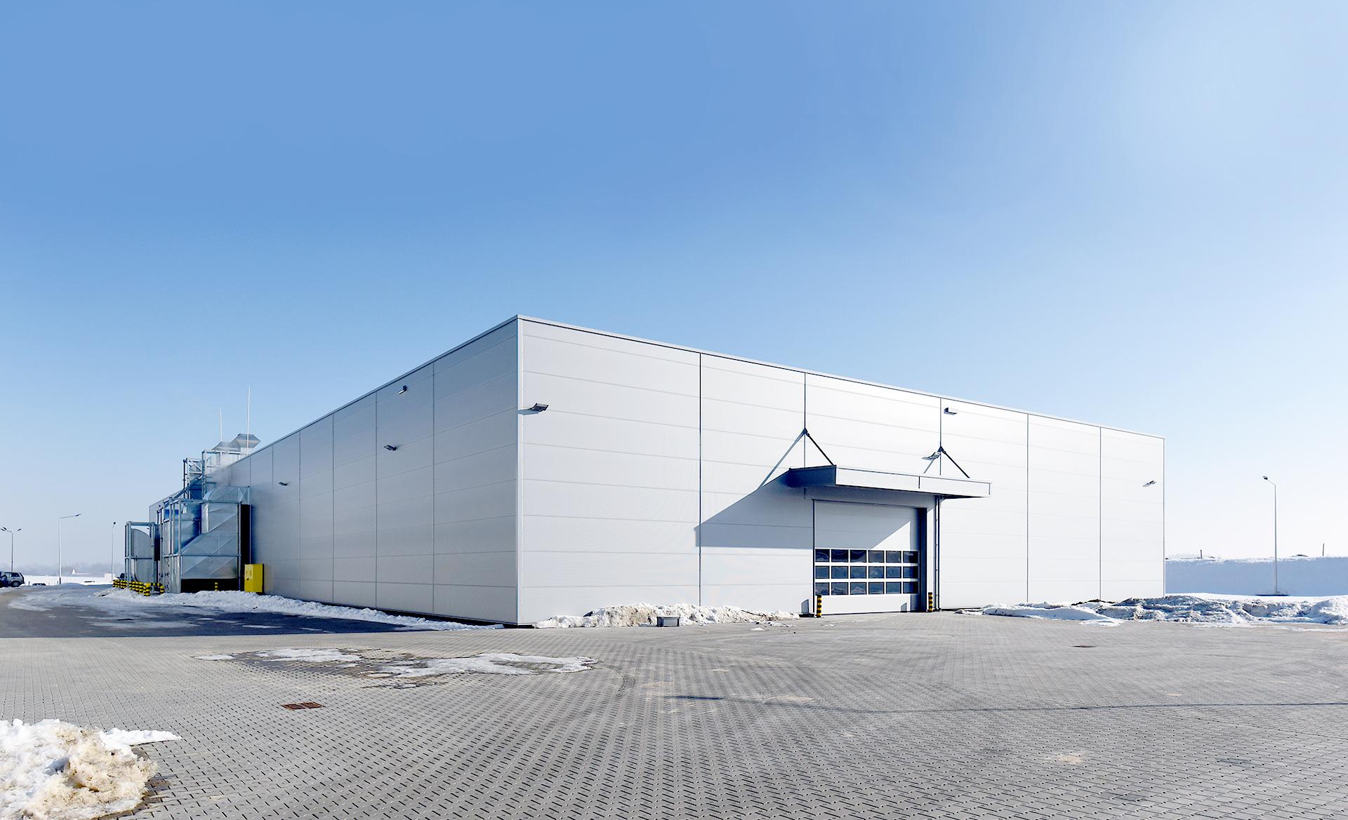 Novoferm factory in Wykroty Poland built by Takenaka Europe