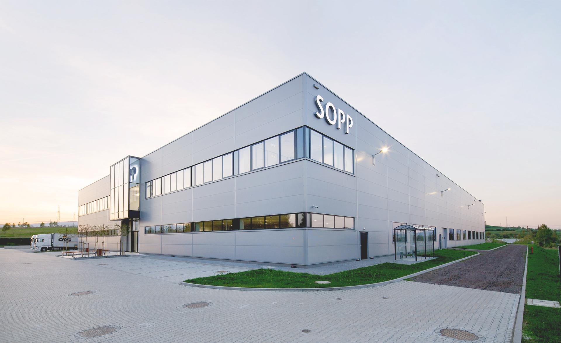 SOPP factory in Kamienna Góra, Poland, built by Takenaka Europe