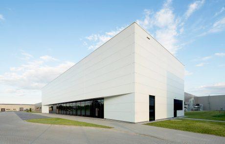 Donaldson factory in Skarbimierz Poland built by Takenaka Europe