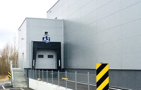 NGK Ceramics NOx 2nd Factory Extension in Gilwice Poland built by Takenaka Europe