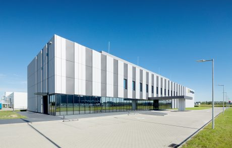 Mitsuhi High-Tec factory in Skarbimierz Poland built by Takenaka Europe