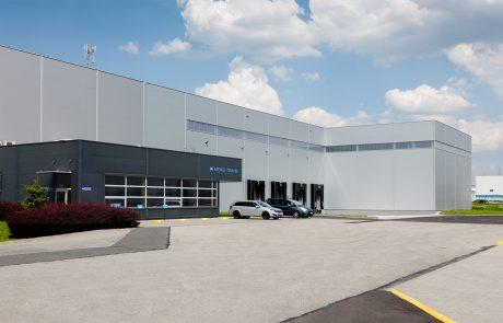 Meiko Trans Logistic Center Extension in Gilwice Poland built by Takenaka Europe