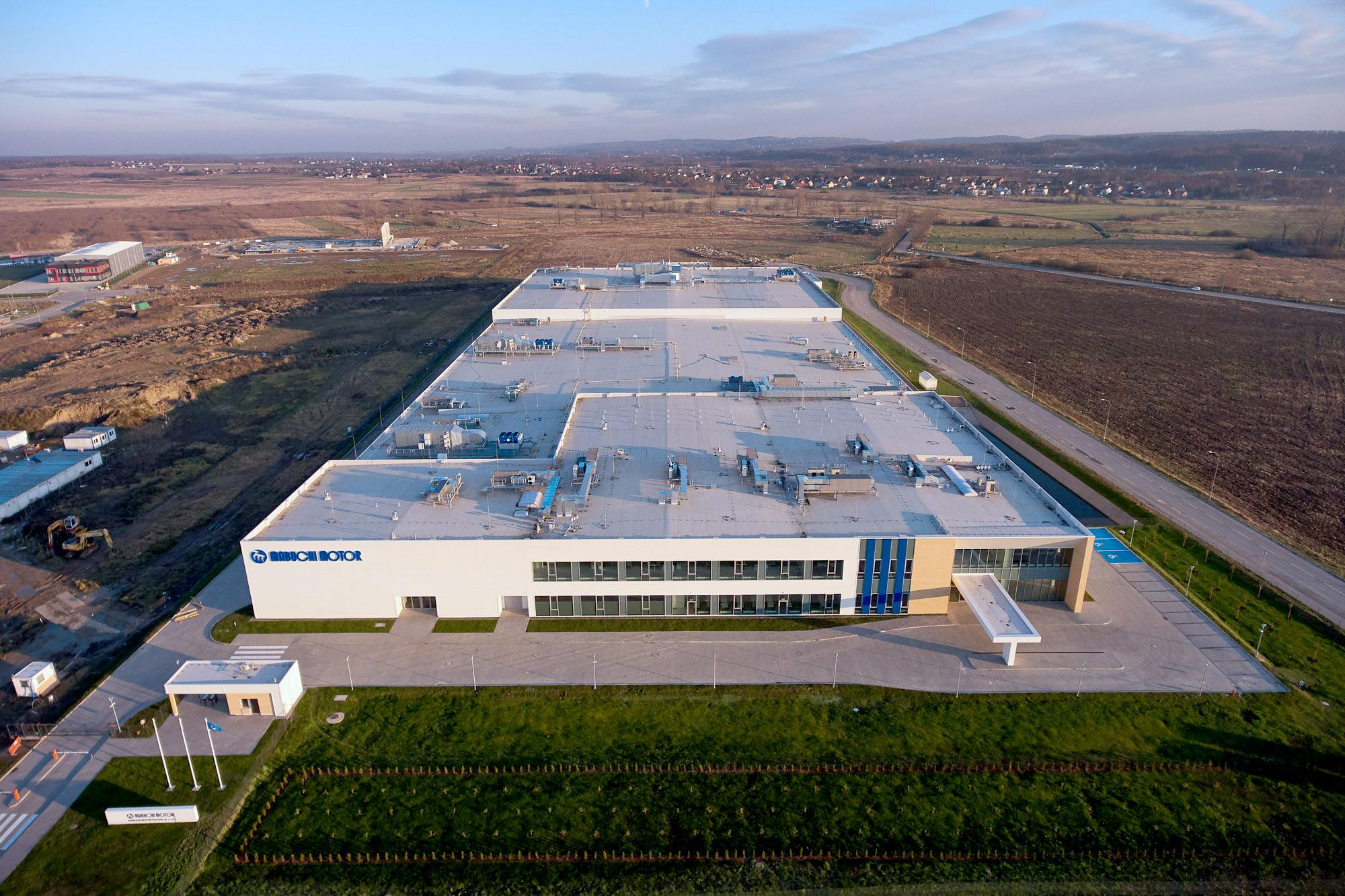 Mabuchi Motor new factory in Mabuchi Poland built by Takenaka Europe