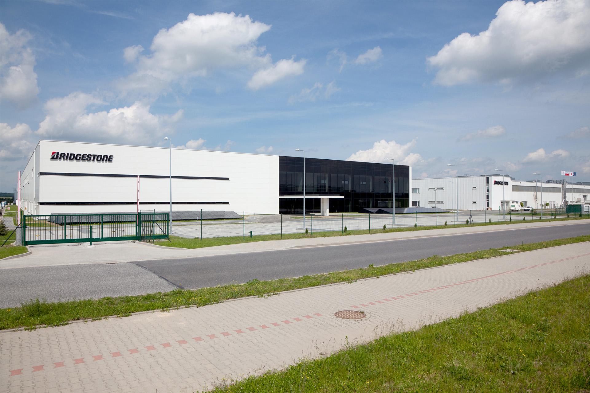 Bridgestone tire factory in Zarow Poland built by Takenaka Europe Front side