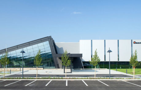 Amada Solution Center Frontview