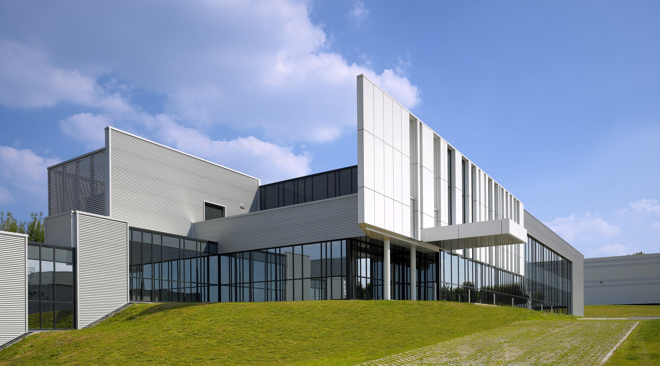 GC Europe Training Center built by Takenaka Europe in Haasrode, Belgium.