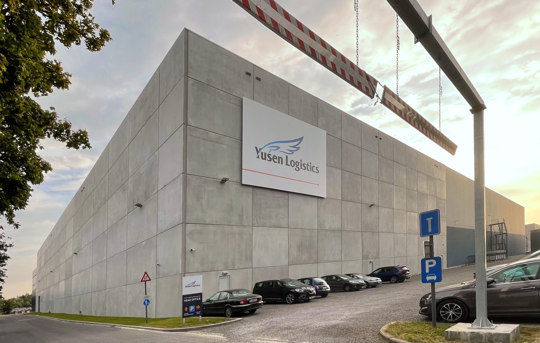 Yusen Logistics warehouse in Melsele, Belgium built by Takenaka Europe GmbH