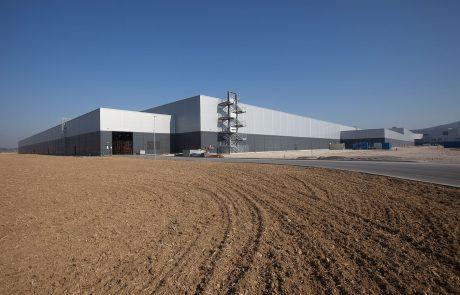 Jaguar Land Rover factory building