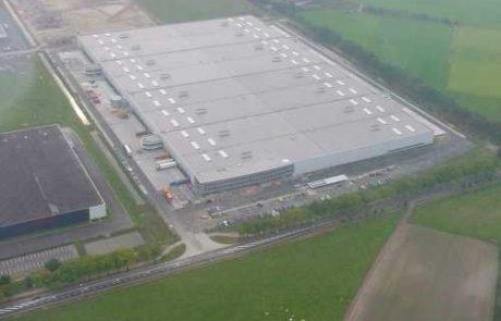 Sony Warenlager und Verteilerzentrum, Tilburg Niederlande, gebaut von Takenaka Europe GmbH