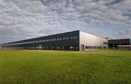thyssenkrupp steering factory extension in Jászfényszaru, Hungary built by Takenaka Europe