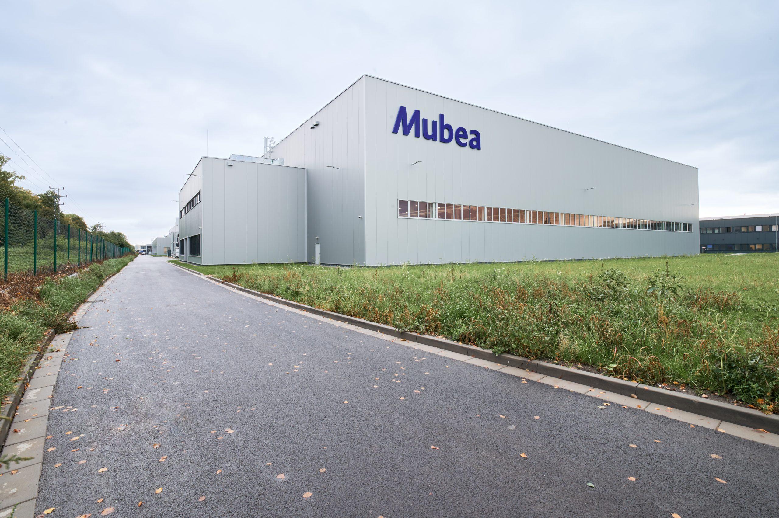 Mubea factory extension in Prostejov, Czech Republic, built by Takenaka Europe